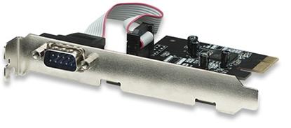 Tarjeta Serial PCI Express 1 Puerto