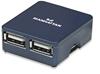 HUB USB V2.0  4 Ptos Micro
