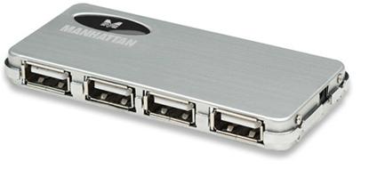 HUB USB V2.0  4 Ptos Mini CON fuente