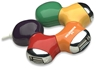 "HUB USB V2.0  4 Ptos ""Flor Multicolor"""