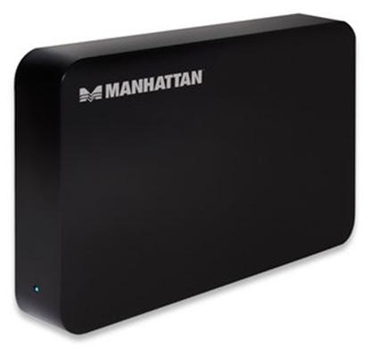 Gabinete HDD 3.5 SATA, USB V3.0 Negro