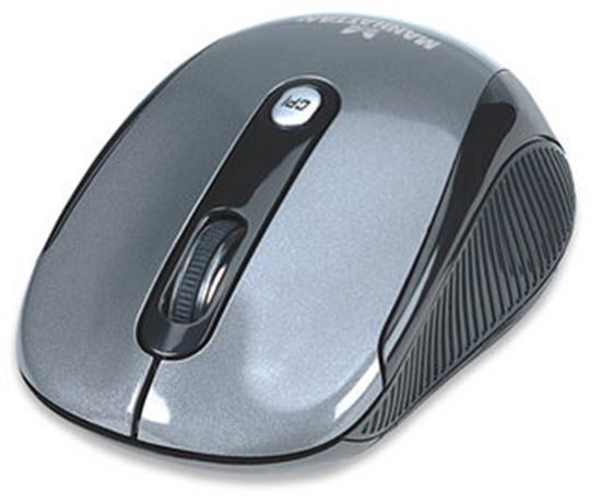 "Mouse Inal. Optico ""Performance"" Neg/Pla"