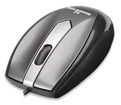 Mouse Mini M01 Optico USB Gris