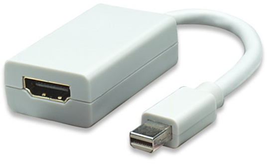 Adaptador DisplayPort Mini M a HDMI H