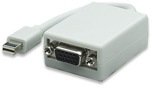 Adaptador DisplayPort Mini M a VGA H
