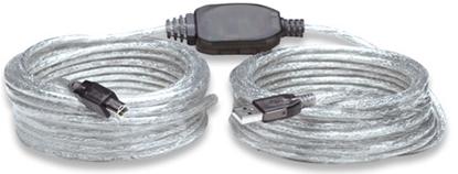 Cable USB V2.0 A-B 11.0M ACTIVO