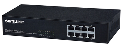 PoE Switch  8 ptos 802.3 at/af 30W/pto