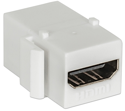 Cople HDMI Keystone Blanco