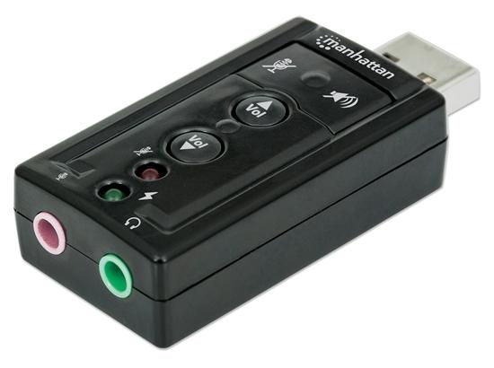 Convertidor USB 2.0 a Tarjeta Sonido 7.1