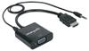 Convertidor Video HDMI a SVGA+Audio, Bolsa
