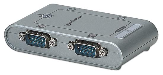 Convertidor USB a Serial DB9M 4 Puertos