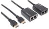 Extensor Video HDMI, 30M via Cat 5/6