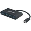 HUB USB-C  4 Ptos A