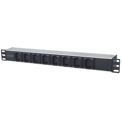 BARRA PDU 8 Cont 1U Rack/Gab, antidesconexion