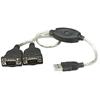 Convertidor USB a Serial DB9M 2 Puertos