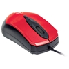 "Mouse Optico ""Edge"" USB Rojo/Negro"