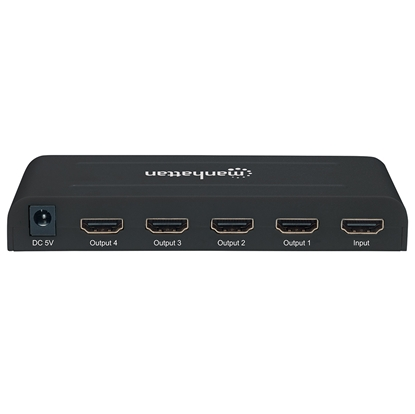 Video Splitter HDMI UHDTV 4k@30Hz, 1 in : 4 out