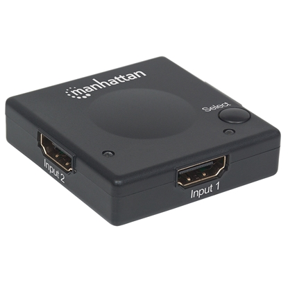 Switch HDMI 1080p, 2 entradas : 1 salida
