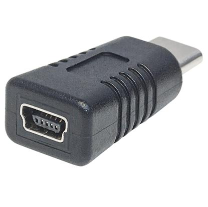 Adaptador USB-C V3.1, CM-Mini B H Negro