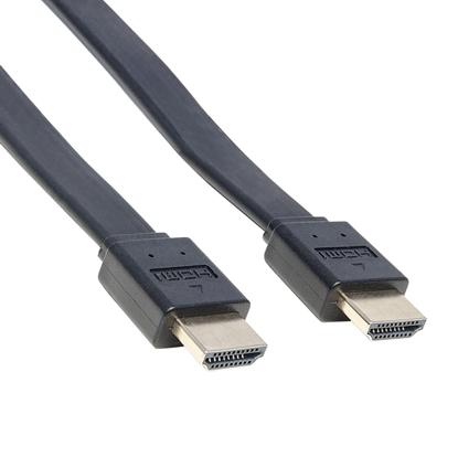 Cable HDMI 2.0 plano M-M  1.0M  BL