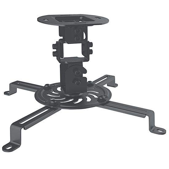 Soporte Proyector p/Techo  Basico 13.5kg, Negro