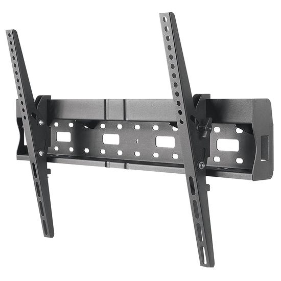 "Soporte TV p/pared 35kg, 37"" a 70"" Repisa integrada para almacenamiento"