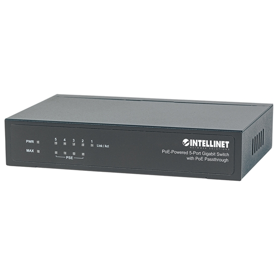 PoE Switch GB  5 ptos 30W/pto, 68W