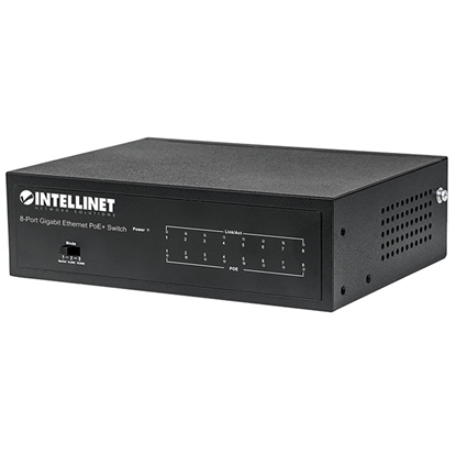 PoE Switch GB  8 ptos 30W/pto,  60W
