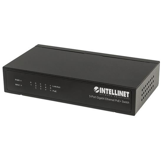 PoE Switch GB  5 ptos 30W/pto, 60W