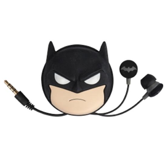 Audifono Intrauricular DC Batman + Bolsa