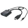 Convertidor Video HDMI a SVGA+Audio, BL