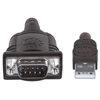 Convertidor USB a Serial DB9M 0.4m chip FT232RL
