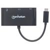Convertidor Video USB-C a SVGA H + USB3 + USBC
