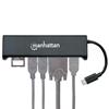 Convertidor Video USB-C a HDMI/SVGA H + Hub USB + Lector tarjetas