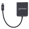 Video Splitter USB-C 1 USB-C in : 2 DP out UHD, MST