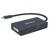 Convertidor Video USB-C a HDMI/SVGA/DVI (HDMI 4K)