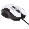 Mouse Optico Gaming USB Blanco c/luz