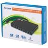 Video Splitter DisplayPort 1 Mini DP in : 4 DP out UHD