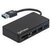 HUB USB V3.2  3 Ptos A + Lector SD/Micro SD