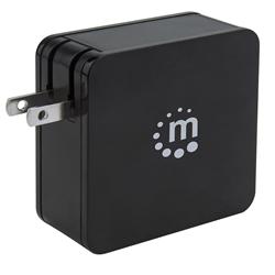 Fuente de Poder Univ. PD  60W USB-C+ 2.4 A USB-A