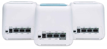 Mesh Inalambrico, Router + 2 repetidores AC1200