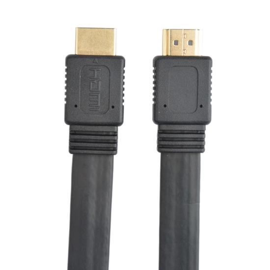Cable HDMI 2.0 plano M-M  0.5M