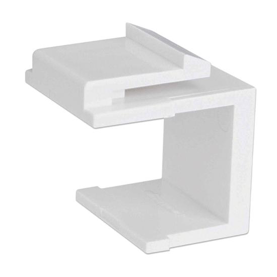 TAPA (FACEPLATE) cubreperforacion 50 pzas Blanco