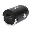 Cargador USB p/Auto 1 puerto USB-C, 30W, Mini
