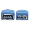 Cable USB V3.0 Extension 2.0M Azul